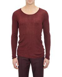 Burberry Xo Barneys New York Ribbed Sweater - Lyst