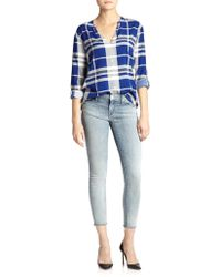 Mother The Looker Skinny Cropped Jeans - Lyst