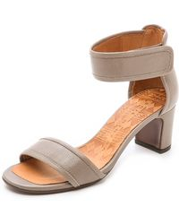 Chie Mihara Jomei Sandals - Stone - Lyst