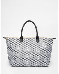 Mi-Pac - Weekend Bag In Cubes Print - Lyst