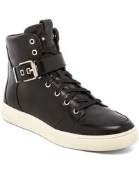 Balmain Black Sneakers - Lyst
