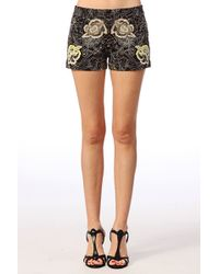 French Connection San Fran Stitch Shorts - Lyst