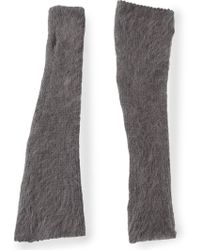 Peachoo + Krejberg Gray Arm Warmers - Lyst