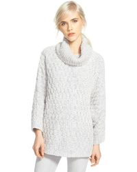 Chelsea28 Nordstrom - Fluffy Turtleneck Sweater - Lyst