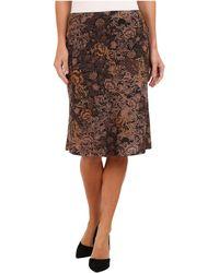 Nally & Millie Floral Sweater Skirt - Lyst