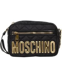 Moschino Handbag Nylon Quilted Crossbody - Lyst