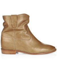 Isabel Marant Cluster Leather Ankle Boots - Lyst