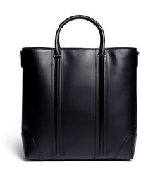 Givenchy B Leather Tote - Lyst