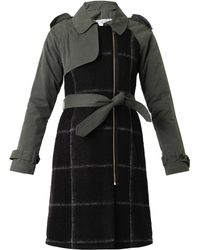 Band Of Outsiders Multipanel Trench Coat - Lyst