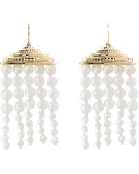 Aurelie Bidermann Crystal Chandelier Earrings - Lyst