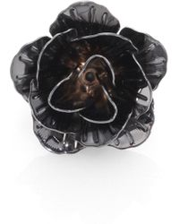 Hook + Albert - Lapel Flower Pin - Lyst