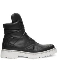Calvin Klein Collection High Sneaker Boot black - Lyst
