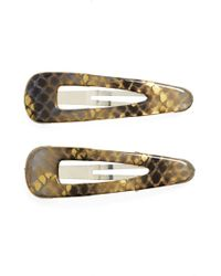 Belle by France Luxe - 'regular Cliq Claq' Barrettes - Lyst