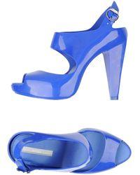 Nicole Brundage - Platform Sandals - Lyst
