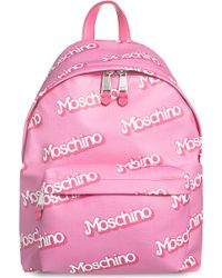 Moschino - Barbie Logo-detail Backpack - Lyst