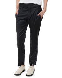 Helmut Lang Suiting Pant black - Lyst