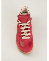 Maison Martin Margiela Geometric Paneled Sneakers - Lyst