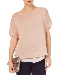 Phase Eight - Macey Knit Top - Lyst