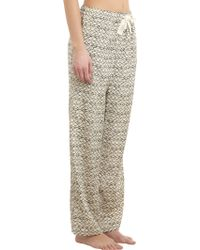 Sea - Fishscaleprint Pajama Pants - Lyst