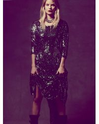 Free People Fp X Magic Sequin Dress - Lyst