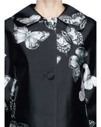 Chictopia - Butterfly Print Coat - Lyst