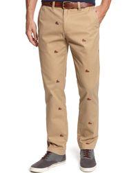 Tommy Hilfiger Mercer Allover Boot Custom-fit Pants - Lyst