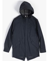 Topman Jacket blue - Lyst