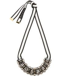 Marni Horn Necklace - Lyst