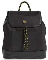 Tory Burch Nylon Backpack - Lyst
