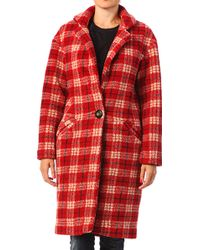 Gat Rimon Jun Carre Coat - Lyst