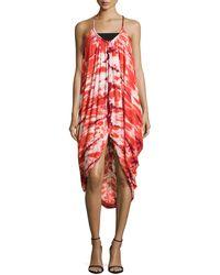 Young Fabulous & Broke Lynn Tie-Dye Sleeveless Dress - Lyst