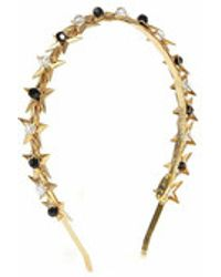 Eugenia Kim Stella Headband black - Lyst