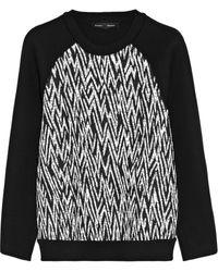 Proenza Schouler Quilted Jersey Sweatshirt - Lyst