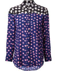 Sonia By Sonia Rykiel Daisy Print Shirt - Lyst