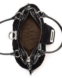 d12af784b1f Lyst - Ferragamo Marisa Shoulder Bag in Black