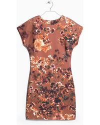 Mango Digital Floral Dress - Lyst