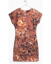 Mango Digital Floral Dress - Lyst
