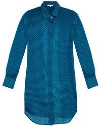 Raphaëlla Riboud - Marilyn Swiss-dot Pyjama Shirt - Lyst