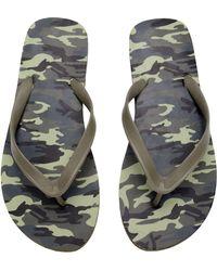 H&M Flip-Flops khaki - Lyst