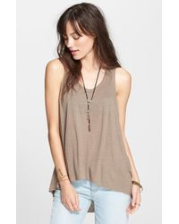 Free People 'Cruz' Cape Tank - Lyst