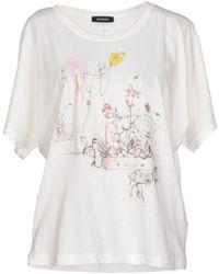 Max & Co White T-shirt - Lyst
