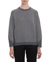 Thakoon Dot Pattern Textured Pullover Top - Lyst