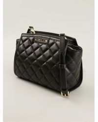 Michael by Michael Kors Selma Quilted Mini Satchel - Lyst