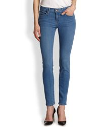Joie Mid-Rise Skinny Jeans - Lyst