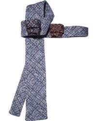 Rosemary Goodenough - Flying Blue Wool & Silk Mens Tie - Lyst