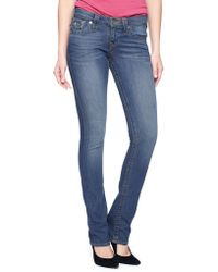 True Religion Cora With Flap Straight Savage Saloon - Lyst