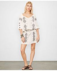 Denim & Supply Ralph Lauren Embroidered Peasant Dress - Lyst