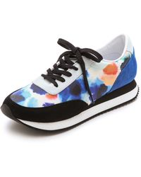 Loeffler Randall Rio Jogging Shoes - Ink Floral Mix - Lyst