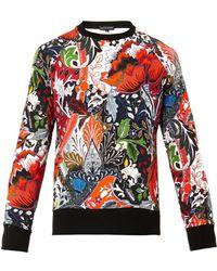 Jonathan Saunders Floral Paisleyprint Sweatshirt - Lyst