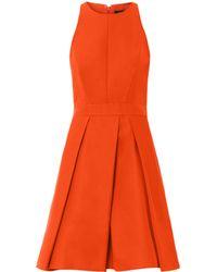 McQ by Alexander McQueen Fold Skirted Dress - Lyst